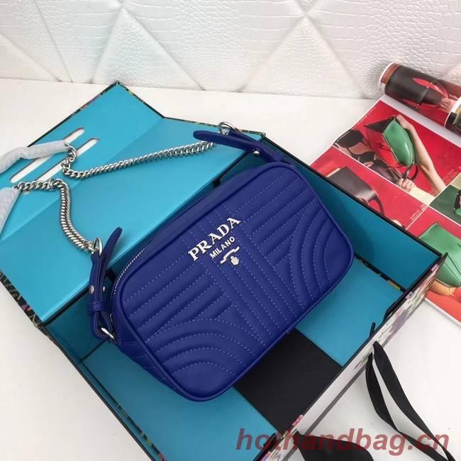 Prada Calf leather bag 183 blue