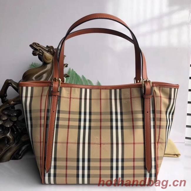 BURBERRY Medium Banner tote bag 5788 brown