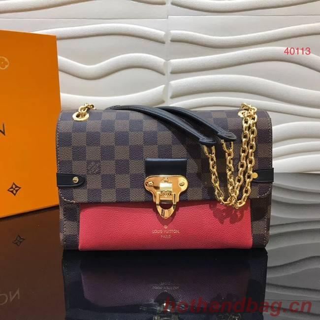 Louis Vuitton Original VAVIN PM N40113 red