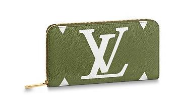 Louis Vuitton Original ZIPPY WALLET M67550 Kaki