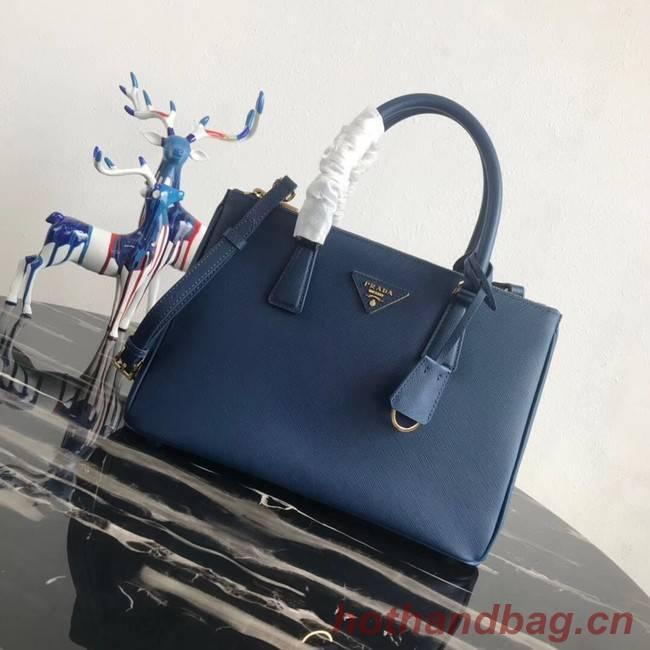 Prada Saffiano original Leather Tote Bag 1BA1801 blue
