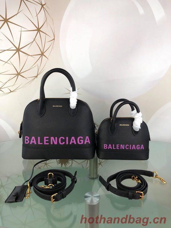 Balenciaga Shell Bag B8923 Black