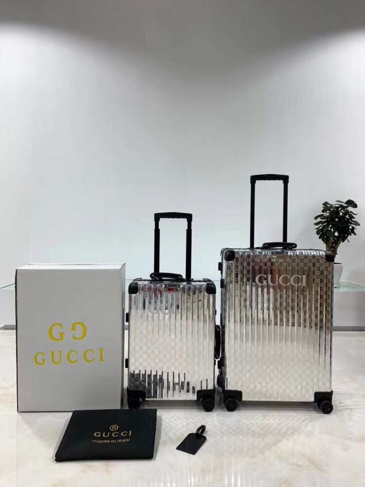 Gucci Travel Luggage GG19588 Silver