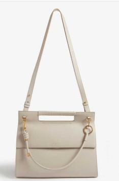 GIVENCHY Whip large leather shoulder bag 37101 Beige
