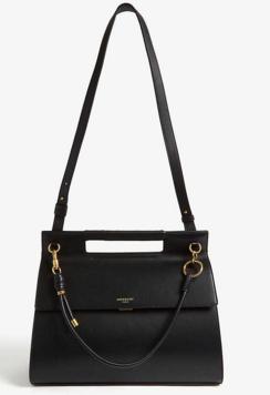 GIVENCHY Whip large leather shoulder bag 37101 black