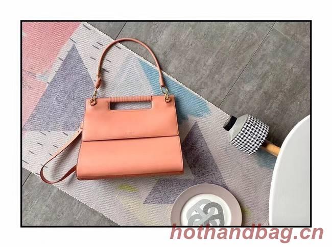 GIVENCHY Whip large leather shoulder bag 37101 pink