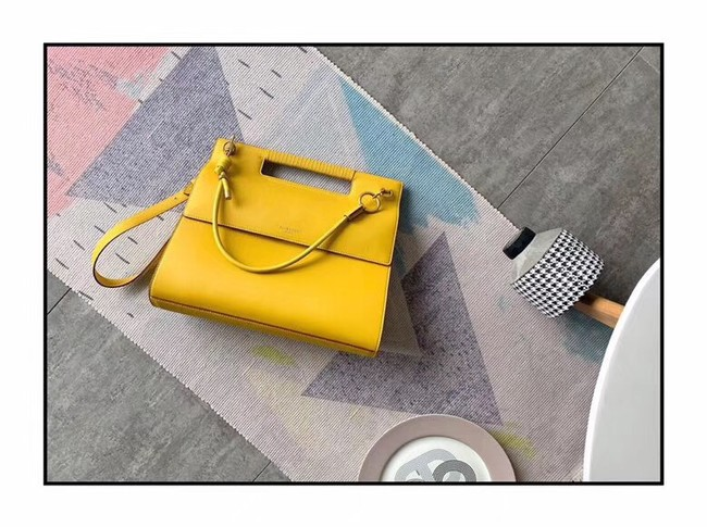 GIVENCHY Whip large leather shoulder bag 37101 yellow