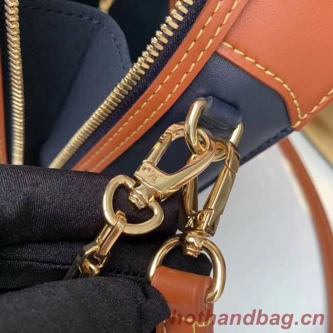 Louis Vuitton MINI LUGGAGE M53782 Navy Blue&Caramel