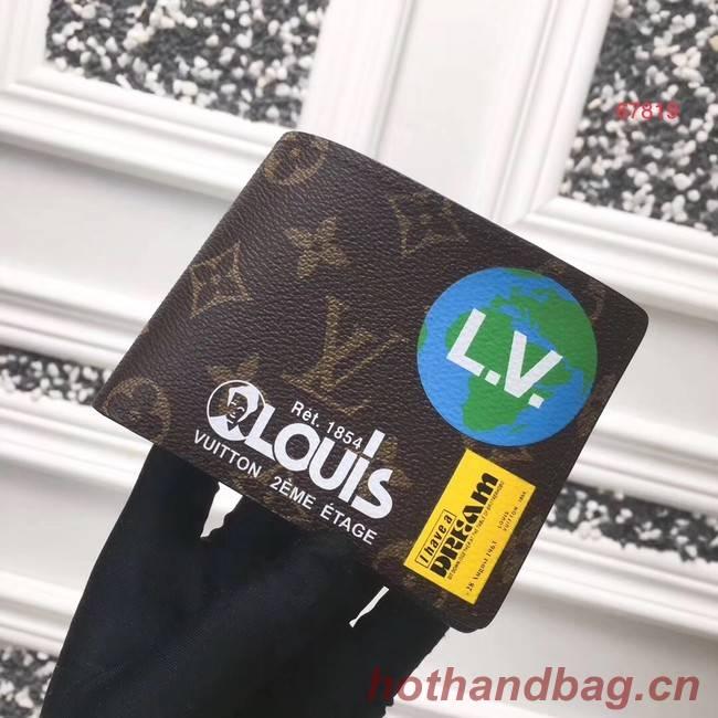 Louis vuitton MULTIPLE Wallet M67819 Monogram Chestnut