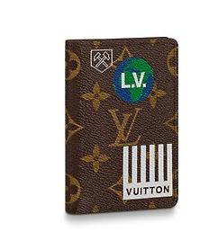 Louis vuitton Pocket Wallet M67818 Chestnut