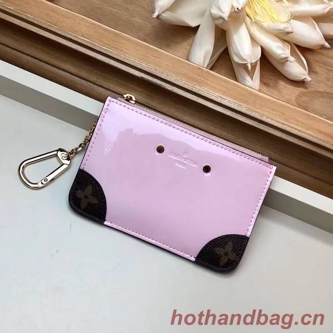 Louis vuitton card holder M63853 pink