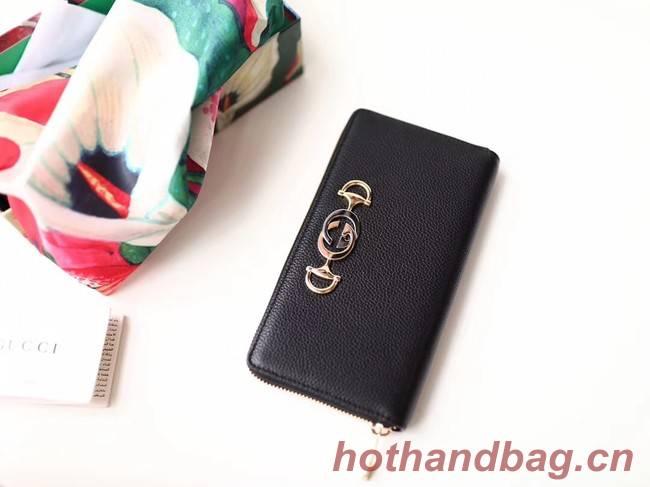Gucci Zumi Wallet 570661 black