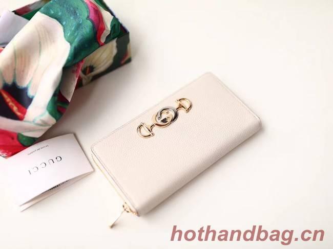 Gucci Zumi Wallet 570661 white