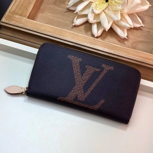 Louis Vuitton Original ZIPPY WALLET M60017 brown