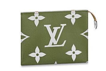 Louis Vuitton TOILET POUCH XL M67692 Khaki