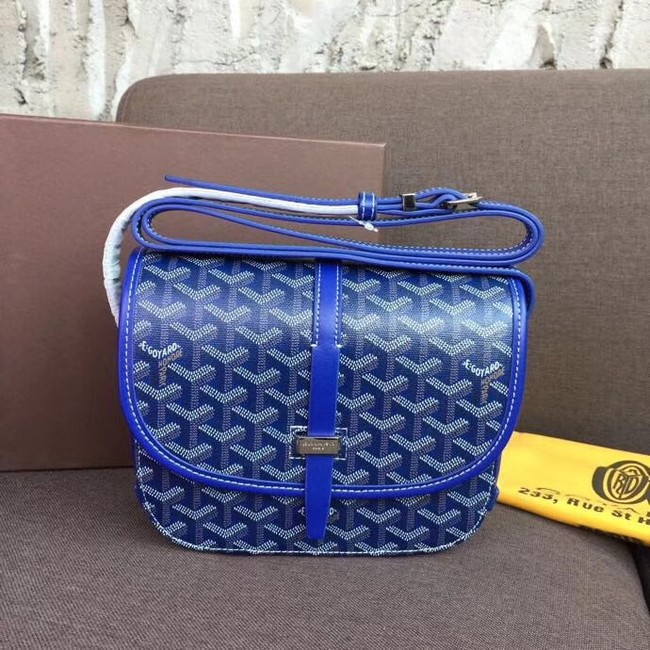 Goyard shoulder bag 36959 electric blue