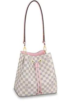 Louis Vuitton Damier Azur NEONOE N40153 Eau de Rose