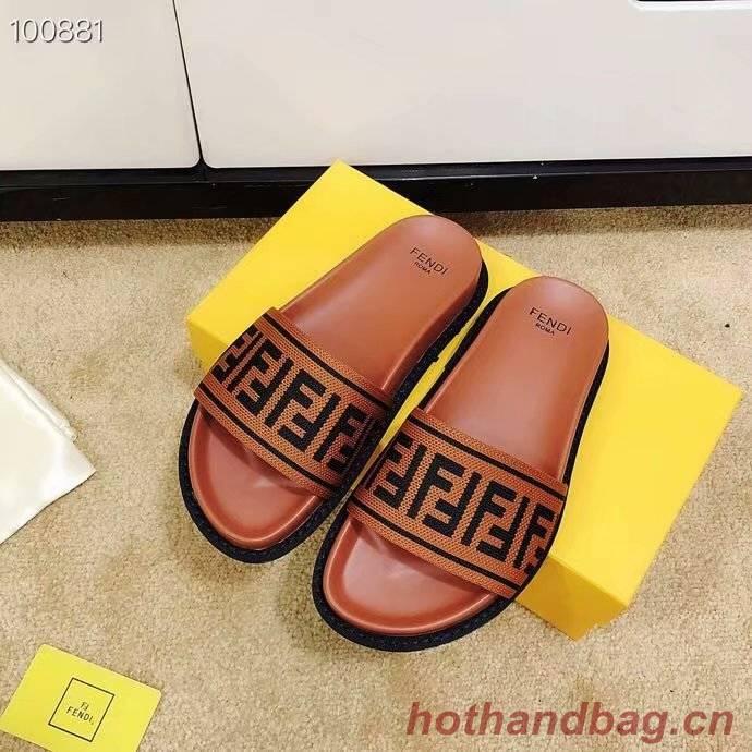Fendi Lovers slippers FD131FD