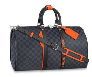 Louis Vuitton Original KEEPALL BANDOULIERE 45 Travel bag N40166