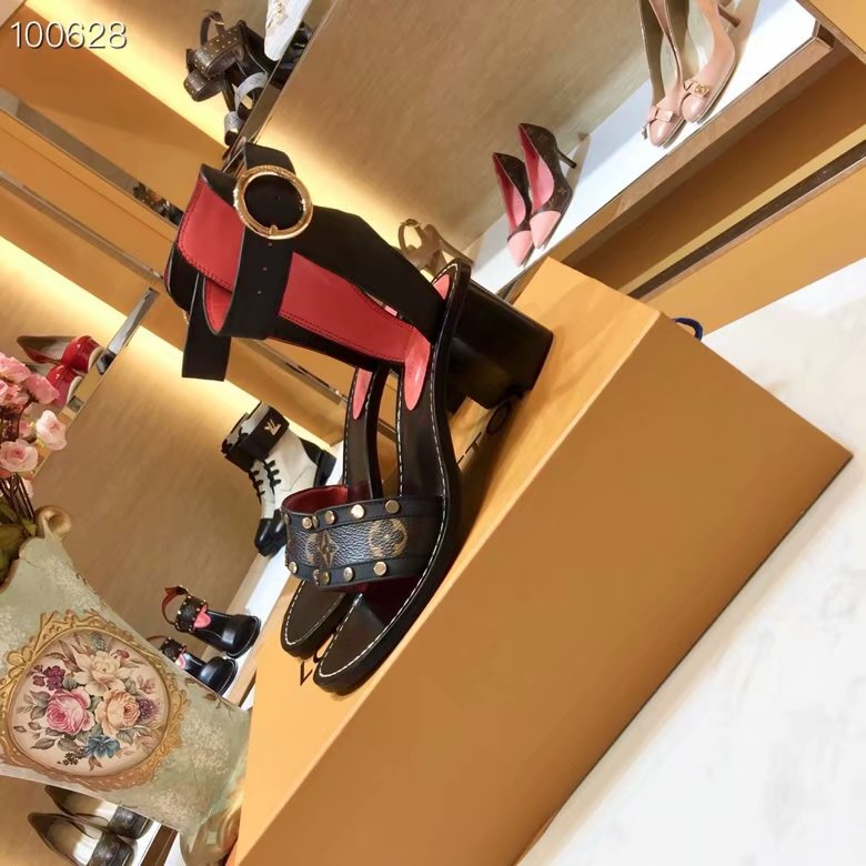 Louis Vuitton Sandals LV940SY 5CM height