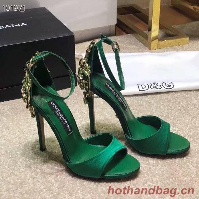 Dolce & Gabbana Sandals DG239BL-1 10CM height