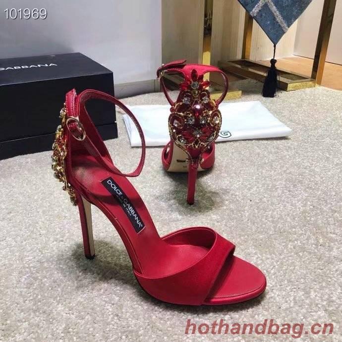 Dolce & Gabbana Sandals DG239BL-3 10CM height