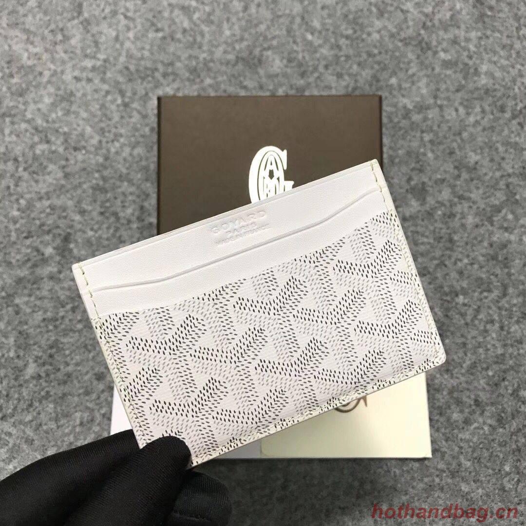 Goyard Card Holder 9957 white