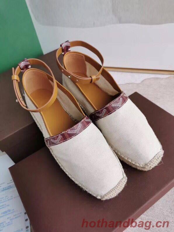 Goyard Shoes G23098 Brown