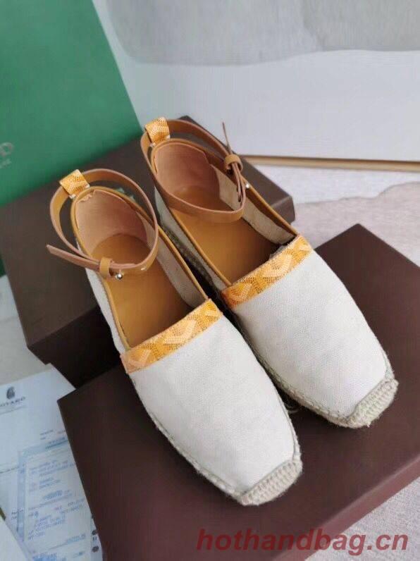 Goyard Shoes G23098 Yellow