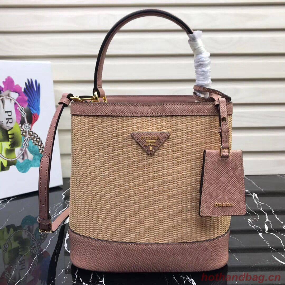 Prada Double Medium bag 1BA210 Pink