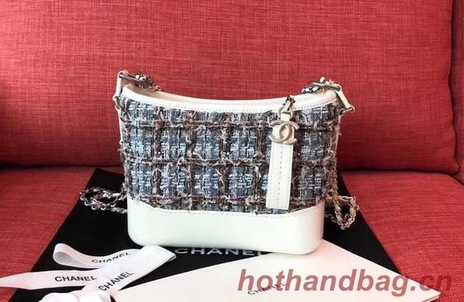 Chanel gabrielle small hobo bag B91810 white