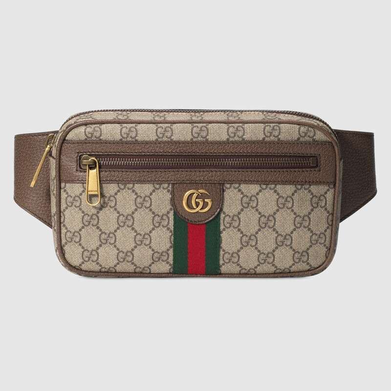 Gucci Ophidia GG belt bag 574796 brown