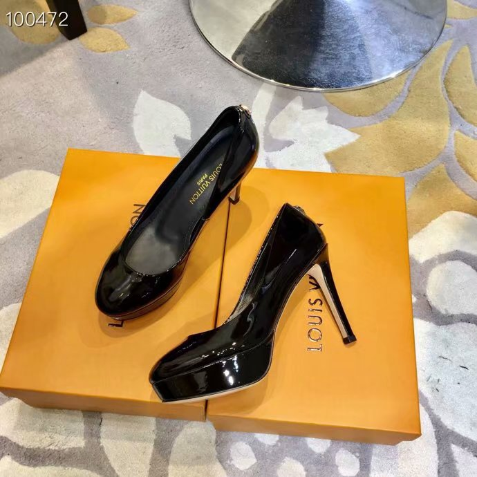 Louis Vuitton lady leather Shoes LV954SY-4 10.5CM height