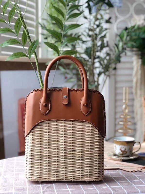 Hermes kelly picnic bag 9811 brown