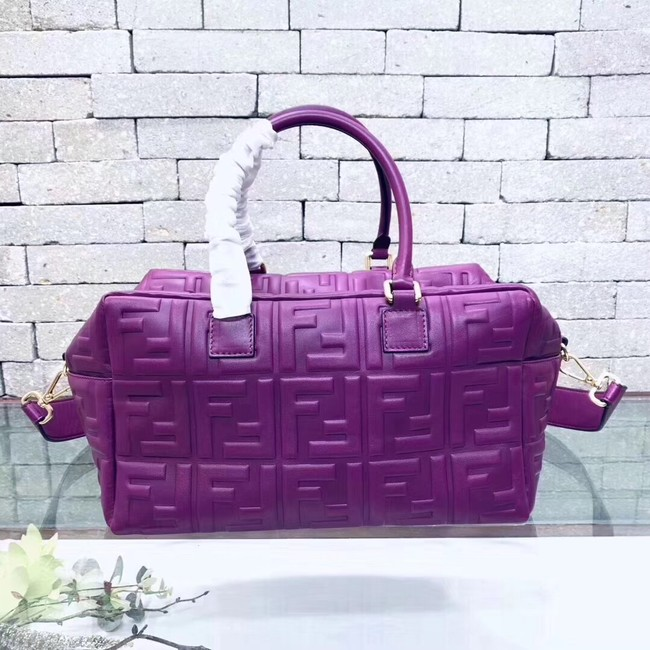 Fendi Boston Bag 8BL141A purple