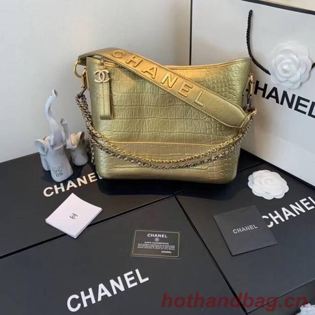 Chanel gabrielle hobo bag A93824 gold