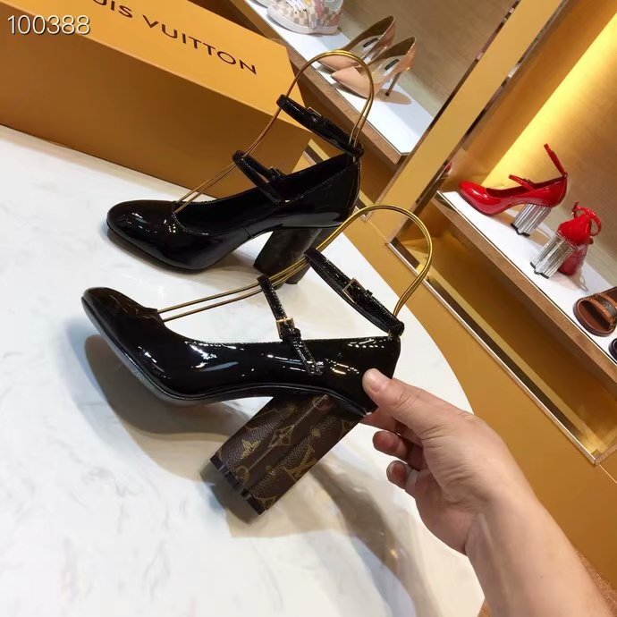 Louis Vuitton High-heeled shoes LV960SY-3 7CM height