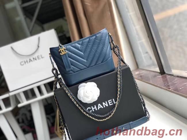 Chanel gabrielle small hobo bag A91810 blue