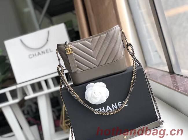 Chanel gabrielle small hobo bag A91810 grey