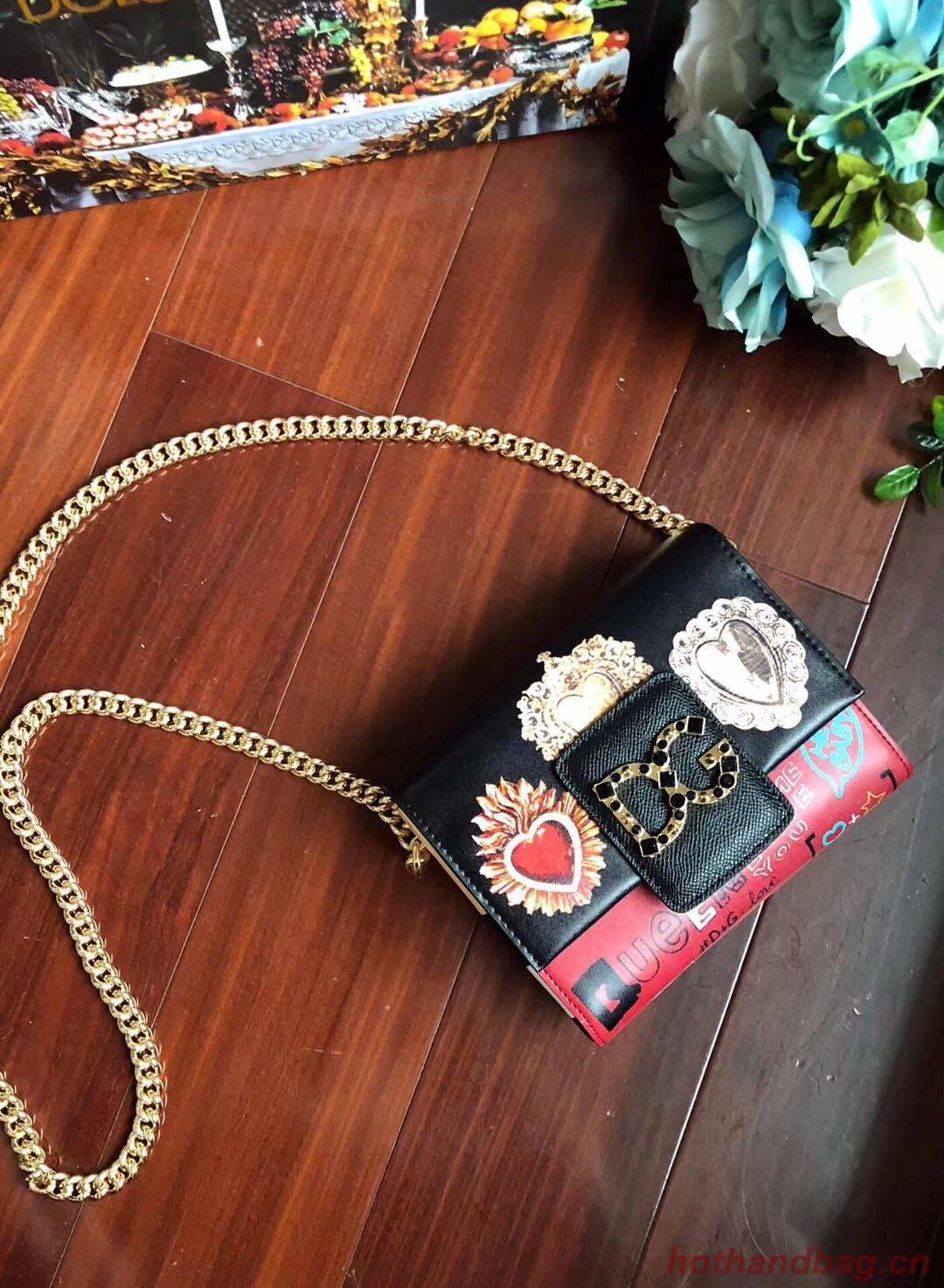 Dolce & Gabbana Original Leather Shoulder Bag BB6318