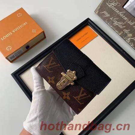 Louis Vuitton CHERRYWOOD Wallet M64449 black