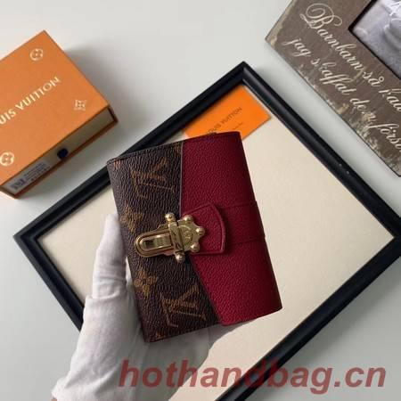 Louis Vuitton CHERRYWOOD Wallet M64449 purplish