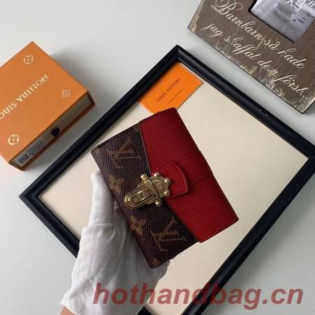 Louis Vuitton CHERRYWOOD Wallet M64449 red
