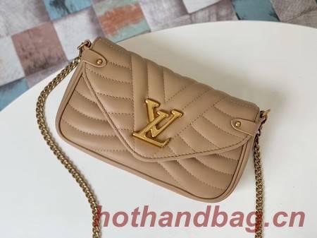 Louis Vuitton NEW WAVE Chain Bag M63956 apricot
