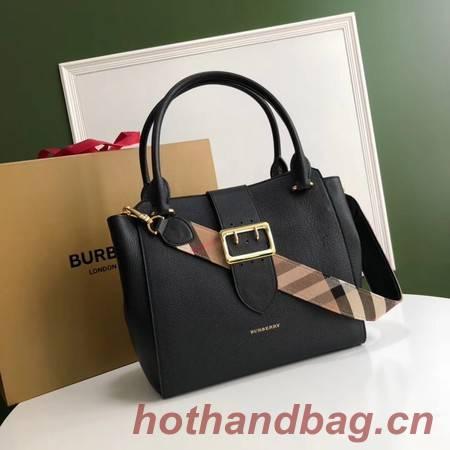 BURBERRY Medium Banner tote bag 0221 black