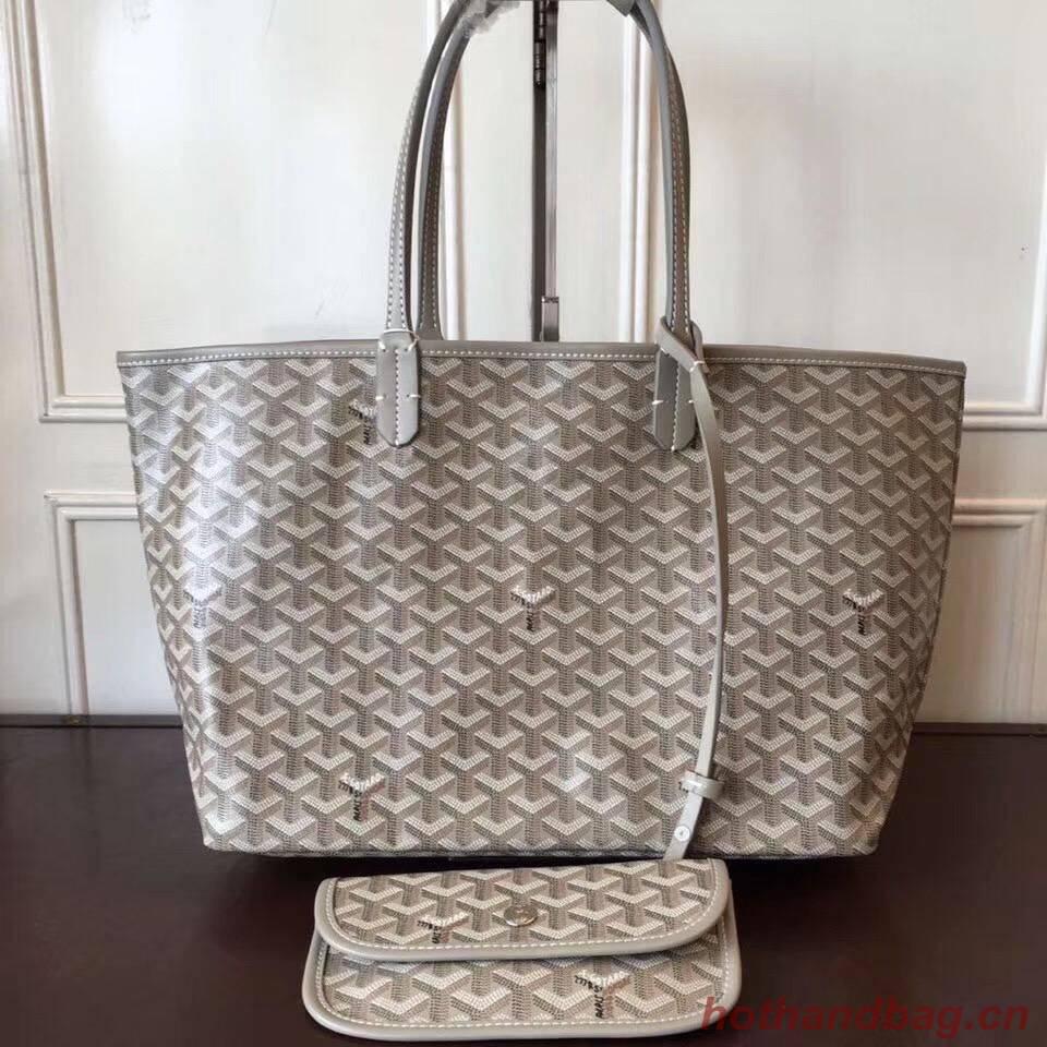 Goyard Y Doodling Calfskin Leather Tote Bag 7902 Kakki