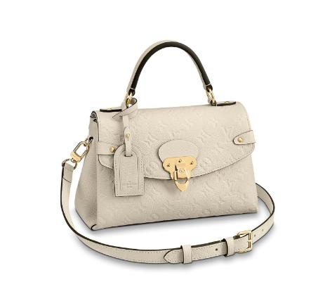 Louis Vuitton Monogram Empreinte Bag M53941 Cream