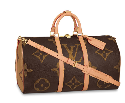 Louis Vuitton Original KEEPALL 50 M44739 brown