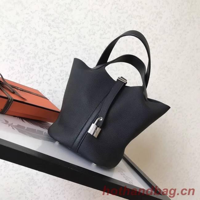 Hermes Picotin Lock PM Bags Original Leather H8688 black