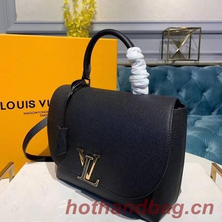 Louis Vuitton Volta Mocaccino Original Leather M53771 Black